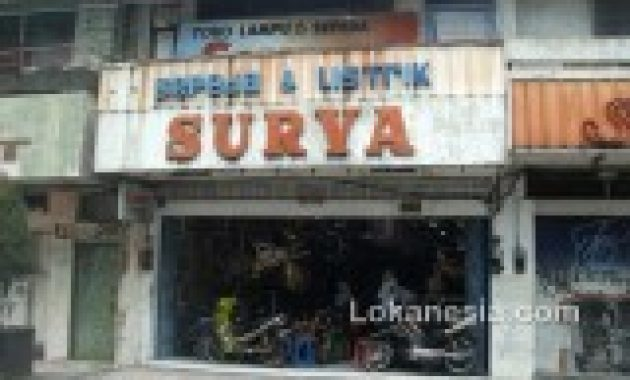 Toko Sepeda & Listrik Surya Jl. Pemuda No. 112 magelang